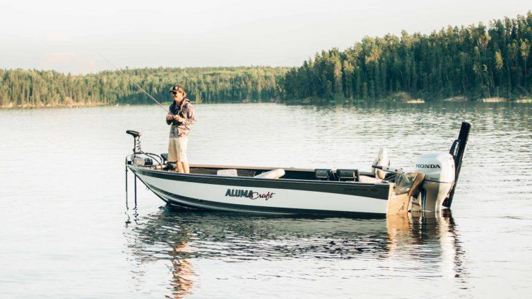 alumacraft boats Honda motor