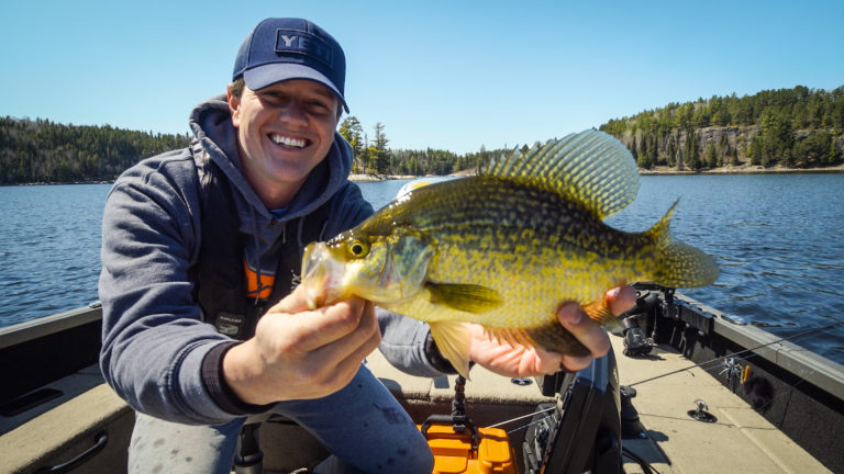 how to find spring crappies